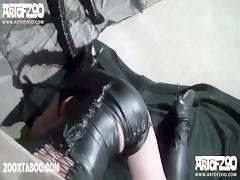 Vixen and silvy dog pleasure slave